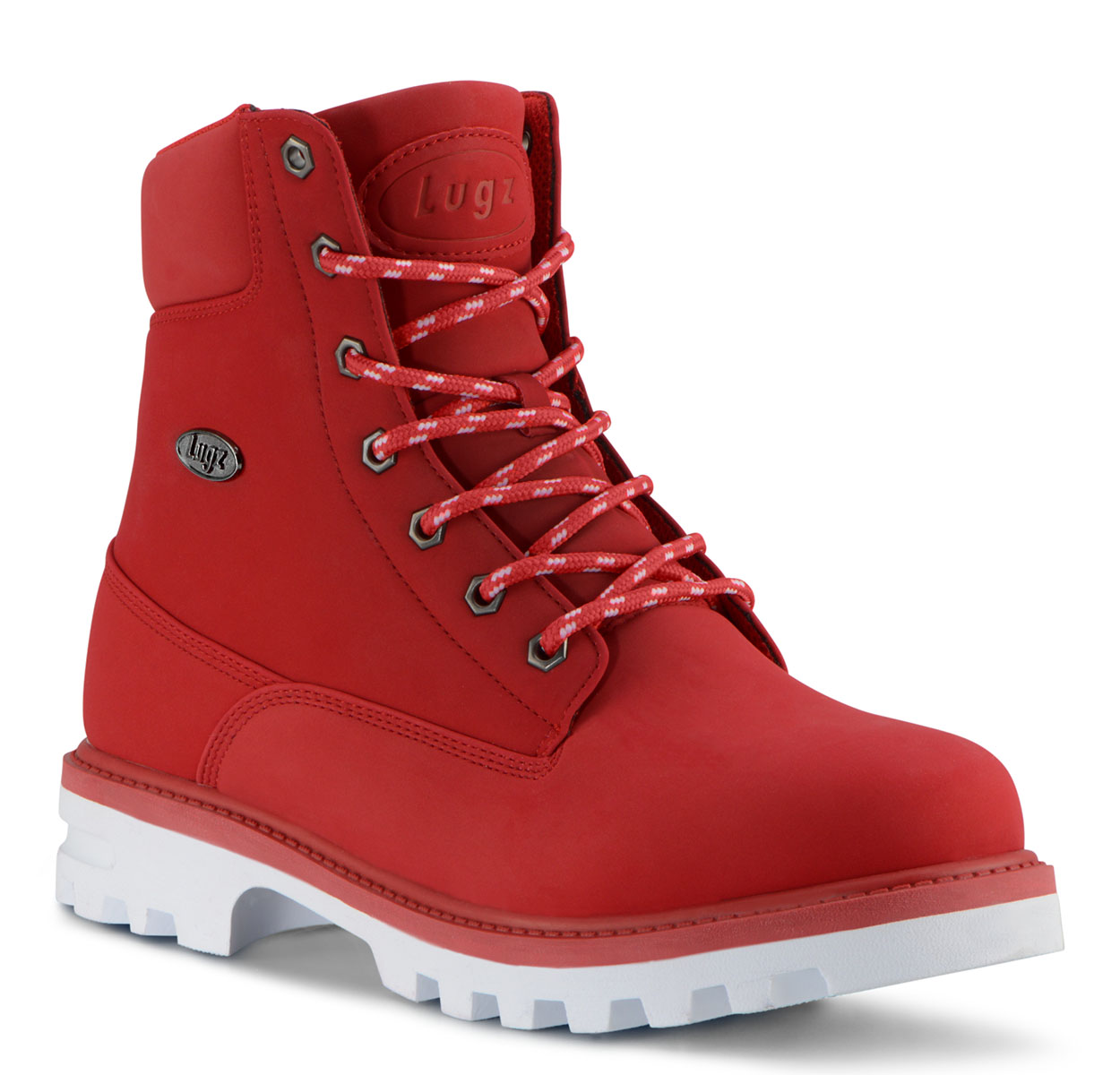 Men's Empire Hi Water Resistant 6-Inch Boot (MARS RED/WHITE)