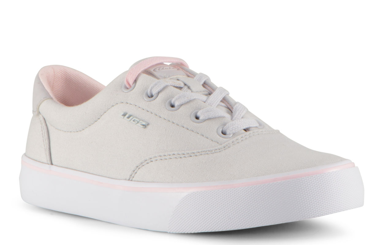 Women's Flip Oxford Sneaker (Choose Your Color: LT GREY/POWDER PINK/WHITE, Choose Your Size: 10.0)